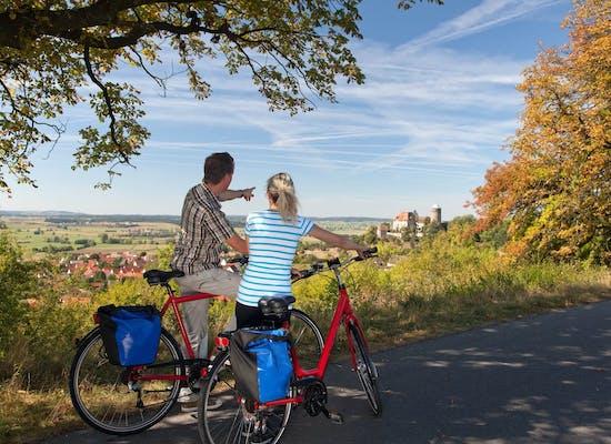 Cycling near Colmberg